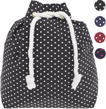 Lovely POLKA DOTS Punkte 50s Retro Turnbeutel RUCKSACK Gymsack Rockabilly