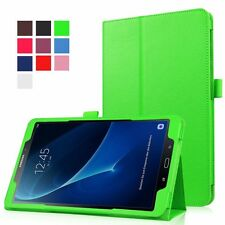 """Leather Folio Case Stand Cover For Samsung Galaxy Tab A6 10.1"""" (2016) T580 T585"""