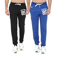 Feed Up Men's Printed Cotton Trackpants