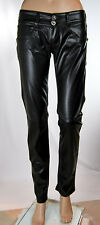 Jeans Pantaloni Donna Ecopelle MET Made in Italy C994 Tg 26 veste 24/25