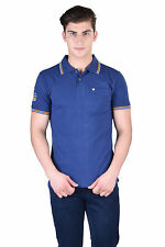 Force Go Wear Men's T-Shirt (Pack Of 1) (MFCO-111-PO-1-Polo-T-Shirt-Navy)