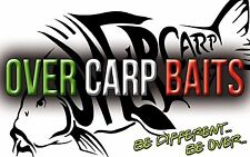 OVER CARP BAITS FARINE PESCE SELF MADE BOILIES PREDIGESTED FISH MEAL CARPFISHING