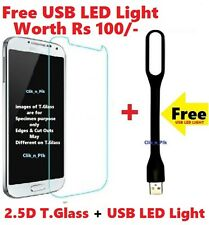For SAMSUNG GALAXY J7 PRIME TEMPERED GLASS + FREE USB LED LIGHT