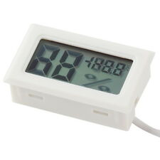 Hot Digital LCD Thermometer Hygrometer Humidity Temperature Meter Indoor lot F&