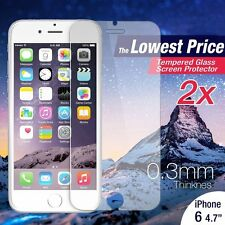 W87 Premium Real Tempered Glass Film Screen Protector For Apple iphone 6S/6 4.F1