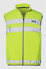 Time to Run Hi Viz Reflective Safety Running Cycling Hiking Gilet Vest