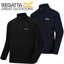 Regatta Mens Thompson Half Zip Micro Fleece Top Pullover