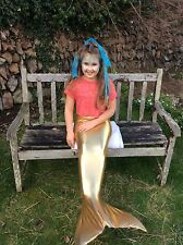KIDS SWIMMABLE SWIM MERMAID TAIL COSTUME FOR MONOFIN GIFT BIRTHDAY BLESSINGS
