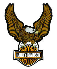 Harley Davidson Aufnäher/Patch Modell Upwing Eagle Silber ca.10,0 cm x 7,5 cm