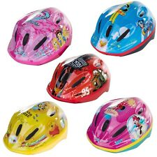 Disney Kinderfahrradhelm 52 56 cm fantastici motivi Mickey Minnie Princess Cars