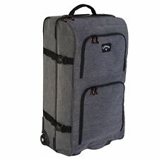 """Callaway 2018 Clubhouse 32"""" Rolling Golf Travel Bag  Mens Luggage Bag-Wheeled"""
