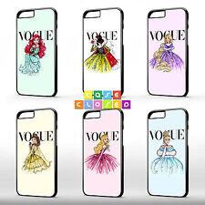 INSPIRED by DISNEY PRINCESS VOGUE Cute Sexy Fashion Phone Case Cover For iPhone