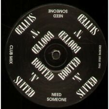 """BOOTED N SUITED Need Someone 12"""" VINYL UK Club Mix B/W Dub Mix (Dodg002)"""