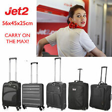56x45x25 Jet2.com Big Hand Luggage Cabin Bags - Fits Easyjet, BA & Monarch