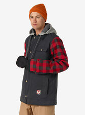 BURTON giacca sci snowboard MB DUNMORE JKT True Black/Buffalo Plaid Yarn AI17