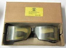 WW2 German Panzer Motorcycle Goggles Vintage aviator driving aged Wehrmacht WWII