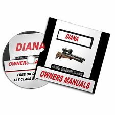 AIRGUN RIFLE USER MANUAL RIFLE CROSMAN BSA SMK  DIANA COLT UMAREX WALTHER DAISY