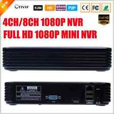 Mini NVR Full HD 4 CH 8 CH ONVIF 2.0 Security CCTV For IP Camera System 1080P