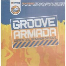 GROOVE ARMADA ESSENTIAL SUMMER GROOVE Various CD UK Mix Mag 2004 16 Track