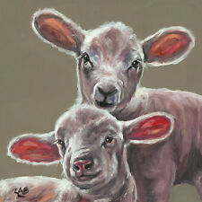 Louise Brown Wildlife Farmyard Animals Canvas Art Prints 52 Options Pictures