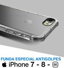 FUNDA ESPECIAL ANTIGOLPES DE SILICONA GEL PARA iPHONE 7 iPHONE 7 PLUS