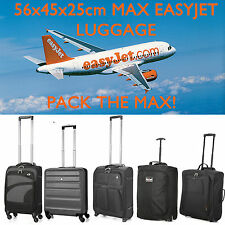 56x45x25 Easyjet Big Hand Luggage Cabin Bags - Fits Jet2.com, BA & Monarch