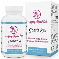 Goat's Rue Lactation Supplement for Breastfeeding Mothers 60/120 Cap Goats Rue