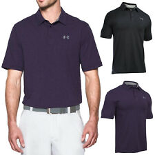 UNDER ARMOUR MENS CHARGED COTTON SCRAMBLE POLO SHIRT - NEW UA GOLF TOP 2017