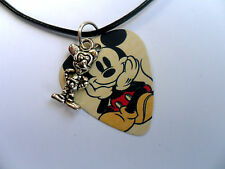 Mickey & Minnie Mouse  Guitar Pick / Plectrum  Necklace & Charm 16 To Choose