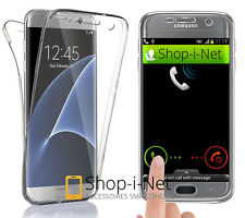 Coque Etui Housse 360° FULL Gel Silicone Tactile Pour Samsung Galaxy