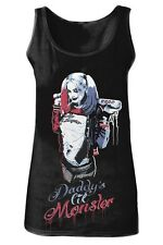 Canottiera Suicide Squad Harley Quinn Daddy's Little Monster Women Tank top