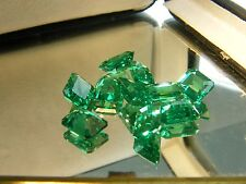 16cts LAB EMERALD(SHIP FROM USA) created synthetic  octagon 8X6 mm 10 pcs