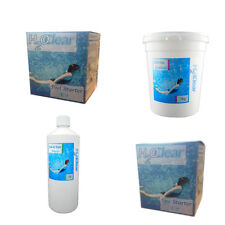 CHEMICAL CHLORINE GRANULES POOLS SCALE AND STAIN REMOVER STARTER KIT POOL