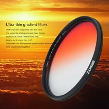 Zomei 49/52/58/62/67/72/77mm Practical Graduated Changing Camera Round Filter F6