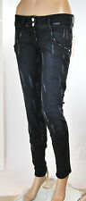 Jeans Donna Pantaloni MET Slim Fit Made in Italy Shiffer CA24 Tg 28 veste 27/28