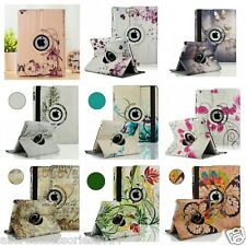 pelle 360rotating SMART STAND CUSTODIA COVER per Apple iPad2/3/4air1/2