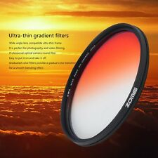 Zomei 49/52/58/62/67/72/77mm Practical Graduated Changing Camera Round Filter F1