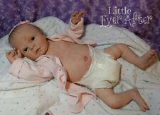 Reborn Jewel anatomical girl tummy realistic newborn preemie baby doll art OOAK