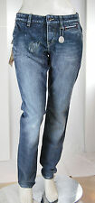 Jeans Donna Pantaloni MET Made in Italy Regular Fit Cikas CB06 Tg 25 28