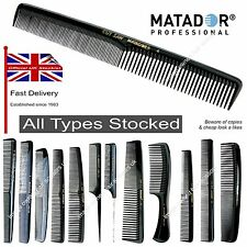 Matador Combs Saw Cut Professional Barbers & Hairdressers ALL TYPES Stocked