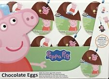 Peppa Pig Chocolate Eggs 20g x 24 Eggs with a 2D Surprise Easter Treat