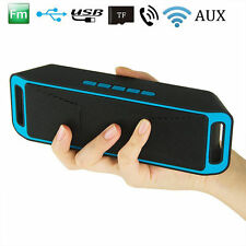 Mini Bluetooth Wireless Lautsprecher Stereo Speaker Boombox Support TF USB AUX