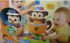 Bright Starts Having a Ball Hide 'n Spin Monkey. New