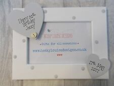 Wooden Personalised 30th Birthday Photo Frame Gift PROMT DISPATCH