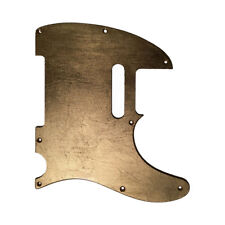 Pickguard CUSTOM ORDER Fender Telecaster style GOLD LEAF SILVER COPPER glossy S