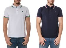 BEVERLY HILLS POLO CLUB - Polo uomo stampata regular fit t-shirt bhpc2618