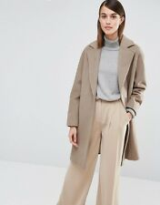 BNWT Whistles Dara Drawn Cocoon Coat Oatmeal XS rrp£230