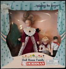 Vintage Horsman Dolls Dollhouse Victorian Family Of 4 In Original Sealed Box