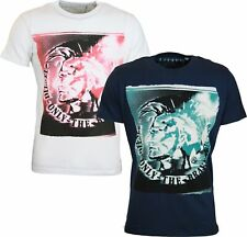 "NEW MENS DIESEL T-SHIRT T9-MOHICAN - ""Iconic Mohican"" Graphic tshirt"