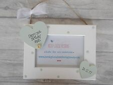 Hanging Wooden Personalised 50th Birthday Photo Frame Gift PROMT DISPATCH